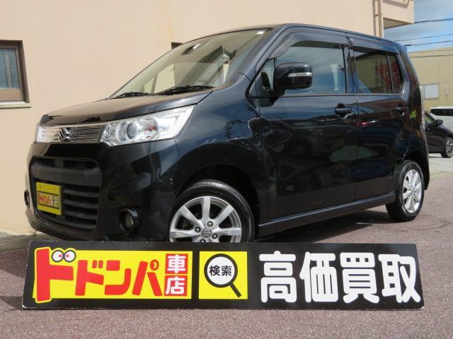 沖縄県豊見城市の中古車ならワゴンRスティングレー X ナビ CD ワンセグ アイドリングストップ