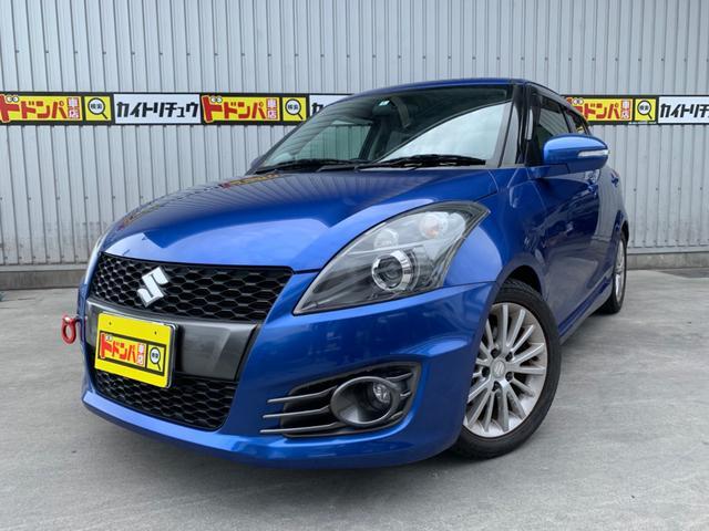 沖縄の中古車 スズキ スイフトスポーツ 車両価格 95万円 リ済込 2012(平成24)年 8.1万km ブルーM