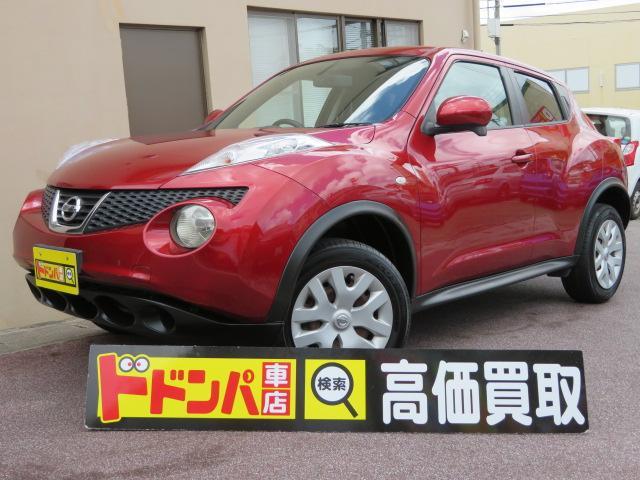 沖縄の中古車 日産 ジューク 車両価格 73万円 リ済込 2010(平成22)年 5.3万km ラディアントレッドPM