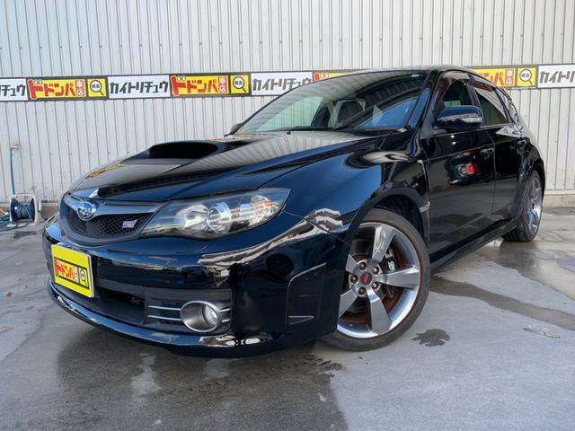 沖縄県豊見城市の中古車ならインプレッサ WRX STi 18インチホイールタイヤ4本新品 ハーフレザーシート
