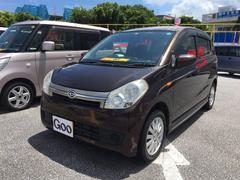 沖縄の中古車 ダイハツ ミラカスタム 車両価格 37万円 リ済込 平成19年 11.1万K マルーン