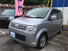 沖縄の中古車 日産 オッティ 車両価格 30万円 リ済込 平成19年 10.3万K シルバー