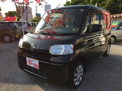 沖縄の中古車 ダイハツ タント 車両価格 65万円 リ済込 平成24年 9.8万K ブラック
