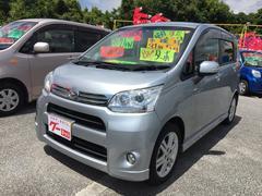 沖縄の中古車 ダイハツ ムーヴ 車両価格 65万円 リ済込 平成24年 9.4万K シルバー