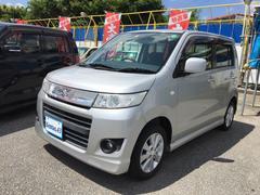 沖縄の中古車 スズキ ワゴンRスティングレー 車両価格 43万円 リ済込 平成21年 10.9万K シルバー