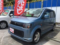 沖縄の中古車 三菱 eKスポーツ 車両価格 33万円 リ済込 平成19年 9.0万K ライトブルー
