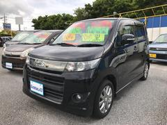 沖縄の中古車 スズキ ワゴンRスティングレー 車両価格 58万円 リ済込 平成23年 10.4万K ブラック