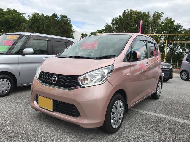 沖縄の中古車 日産 デイズ 車両価格 65万円 リ済込 2013(平成25)年 8.2万km ピンク