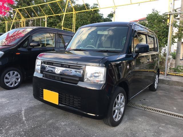 沖縄の中古車 ダイハツ ムーヴコンテ 車両価格 62万円 リ済込 2012(平成24)年 8.4万km ブラック