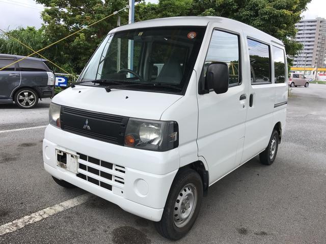 沖縄の中古車 三菱 ミニキャブバン 車両価格 47万円 リ済込 2009(平成21)年 8.5万km ホワイト