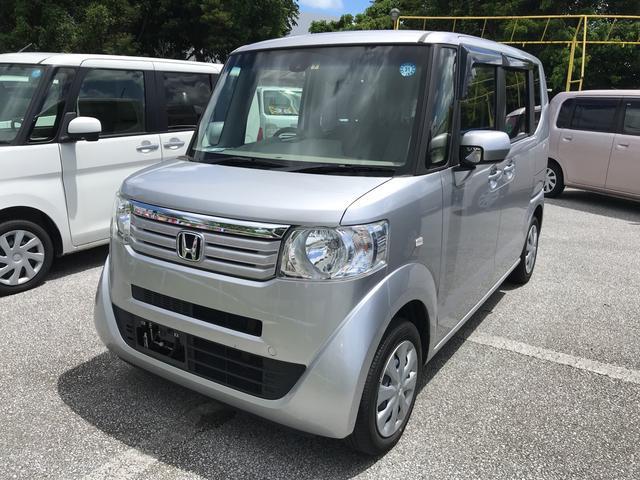 沖縄の中古車 ホンダ N-BOX 車両価格 73万円 リ済込 2014(平成26)年 8.9万km シルバー