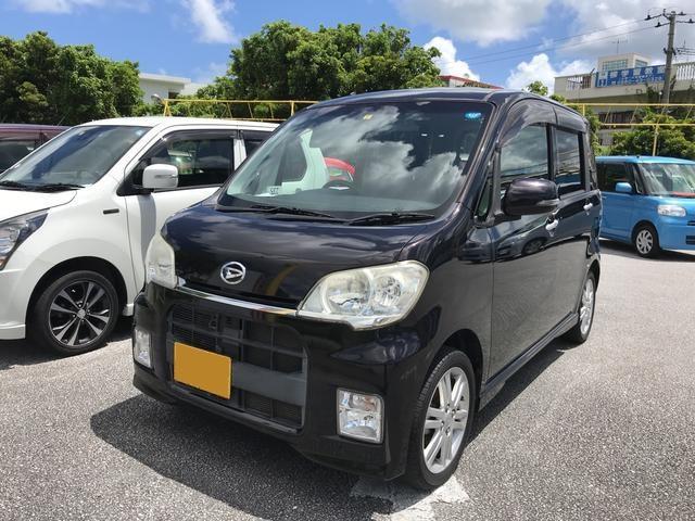 沖縄の中古車 ダイハツ タントエグゼ 車両価格 58万円 リ済込 2011(平成23)年 9.5万km Dブラウン