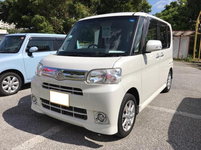 沖縄の中古車 ダイハツ タント 車両価格 72万円 リ済込 2013(平成25)年 8.8万km パールホワイト