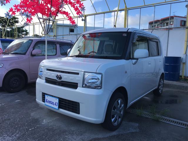 沖縄の中古車 トヨタ ピクシススペース 車両価格 63万円 リ済込 2015(平成27)年 8.2万km パールホワイト