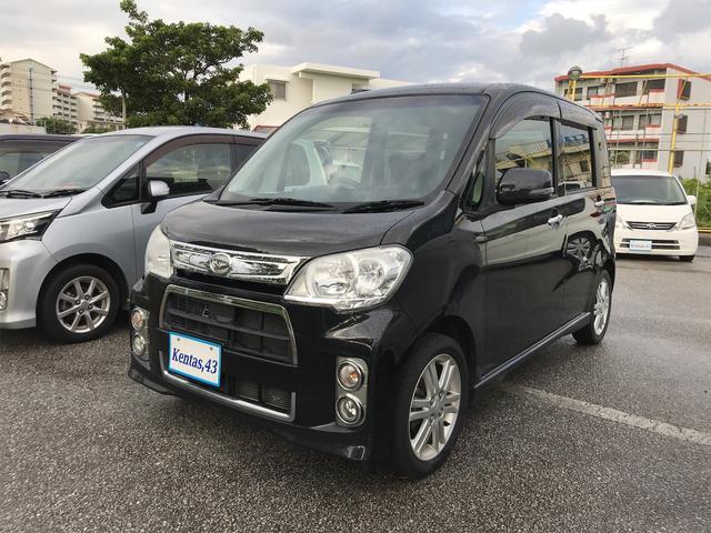 沖縄の中古車 ダイハツ タントエグゼ 車両価格 53万円 リ済込 2012(平成24)年 9.1万km ブラック