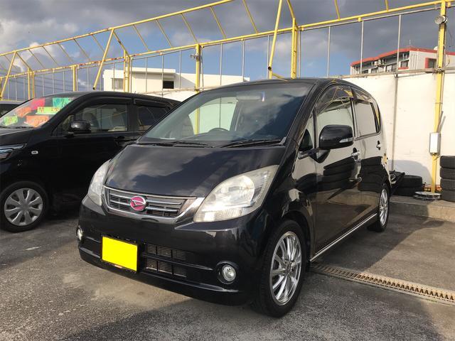 沖縄の中古車 ダイハツ ムーヴ 車両価格 37万円 リ済込 2010(平成22)年 10.9万km ブラック