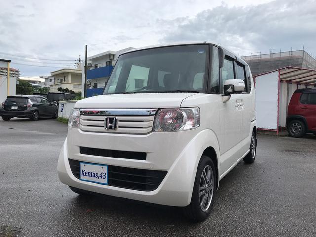 沖縄の中古車 ホンダ N-BOX 車両価格 69万円 リ済込 2014(平成26)年 9.7万km パールホワイト