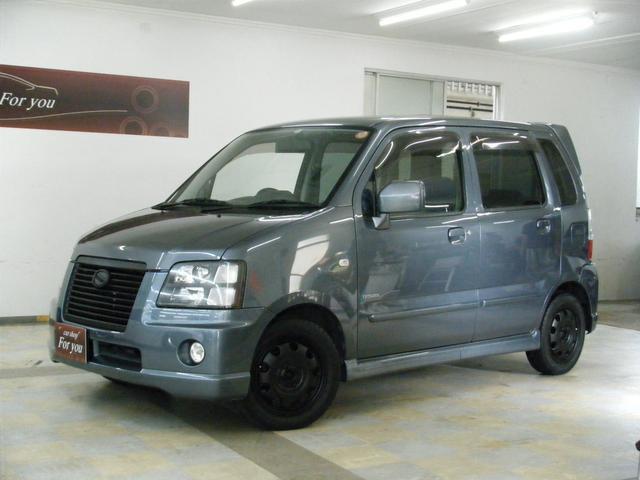沖縄の中古車 スズキ ワゴンRソリオ 車両価格 35万円 リ済込 平成16年 7.5万km グレー