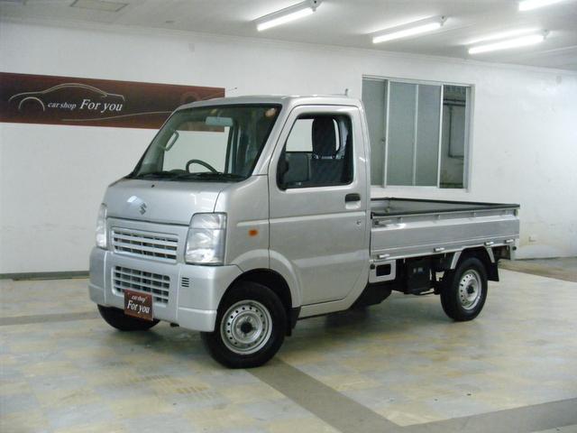 沖縄の中古車 スズキ キャリイトラック 車両価格 69万円 リ済別 平成25年 3.0万km シルバー