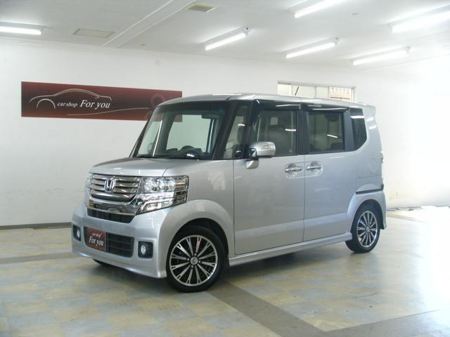 沖縄の中古車 ホンダ N-BOX 車両価格 99万円 リ済別 平成25年 9.4万km ホワイト