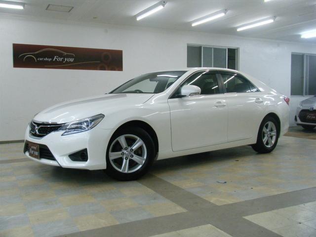 沖縄の中古車 トヨタ マークX 車両価格 115万円 リ済別 2013(平成25)年 8.5万km ホワイト