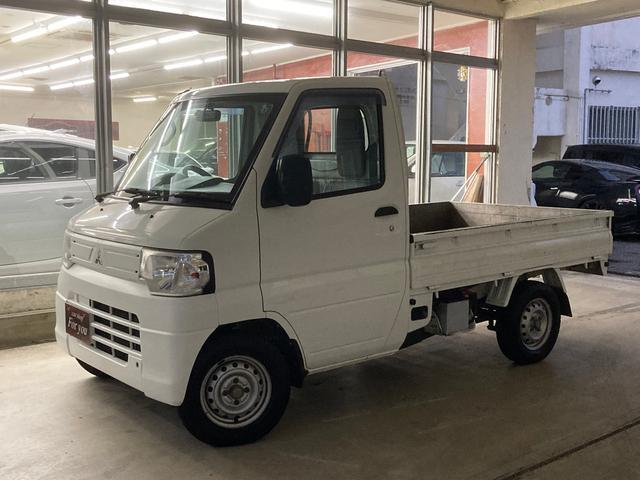 沖縄の中古車 三菱 ミニキャブトラック 車両価格 35万円 リ済別 2012(平成24)年 13.6万km ホワイト