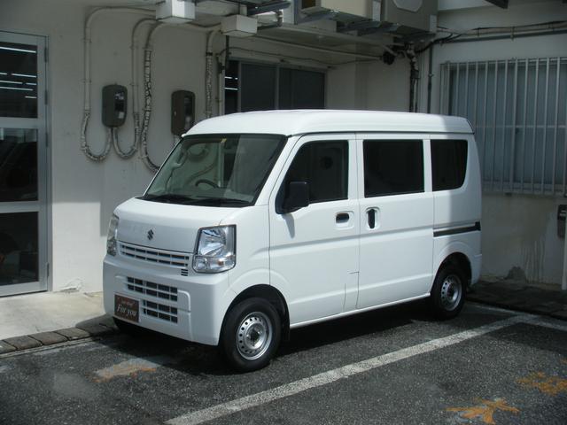 沖縄の中古車 スズキ エブリイ 車両価格 98万円 リ済別 2018(平成30)年 2.7万km ホワイト