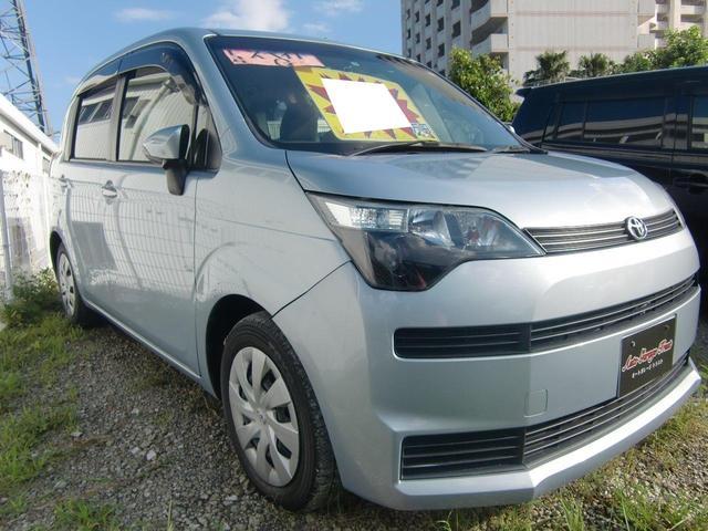 沖縄の中古車 トヨタ スペイド 車両価格 58万円 リ済込 2013(平成25)年 6.0万km ブルーグレー