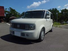 沖縄の中古車 日産 キューブ 車両価格 29万円 リ済込 平成16年 7.0万K アイボリーホワイト