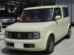 沖縄の中古車 日産 キューブ 車両価格 20万円 リ済込 平成16年 15.3万K クリームII