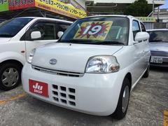 沖縄の中古車 ダイハツ エッセ 車両価格 19万円 リ済込 平成22年 11.3万K ホワイト