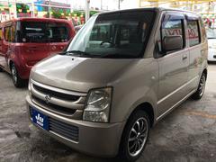 沖縄の中古車 スズキ ワゴンR 車両価格 19万円 リ済込 平成18年 13.2万K ゴールド
