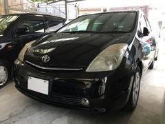 沖縄の中古車 トヨタ プリウス 車両価格 49万円 リ済込 平成18年 10.5万K ブラックM
