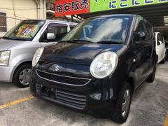 沖縄の中古車 スズキ MRワゴン 車両価格 19万円 リ済込 平成19年 20.4万K ブルーイッシュブラックパール3