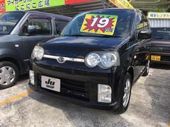 沖縄の中古車 ダイハツ ムーヴ 車両価格 19万円 リ済込 平成17年 11.0万K ブラックマイカ