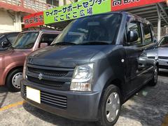沖縄の中古車 スズキ ワゴンR 車両価格 19万円 リ済込 平成19年 13.9万K アズールグレーパールメタリック