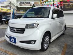 沖縄の中古車 トヨタ bB 車両価格 35万円 リ済込 平成18年 10.6万K ホワイト