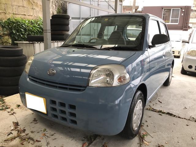 沖縄の中古車 ダイハツ エッセ 車両価格 23万円 リ済込 2007(平成19)年 11.4万km シーブルー