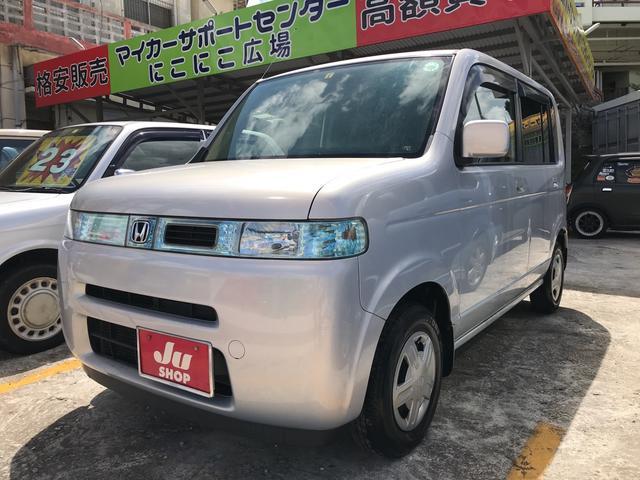 沖縄の中古車 ホンダ ザッツ 車両価格 19万円 リ済込 平成15年 11.2万km サテンシルバーメタリック