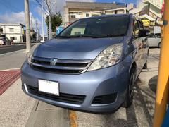 沖縄の中古車 トヨタ アイシス 車両価格 39万円 リ済込 平成20年 11.0万K ライトブルーM