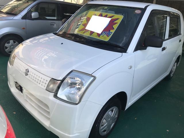 沖縄の中古車 スズキ アルト 車両価格 19万円 リ済込 2006(平成18)年 9.1万km スペリアホワイト