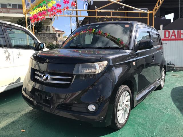 沖縄の中古車 トヨタ bB 車両価格 29万円 リ済込 平成18年 16.2万km ブラックマイカメタリック