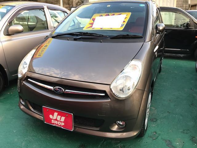 沖縄の中古車 スバル R2 車両価格 19万円 リ済込 平成16年 13.1万km ブラウンM