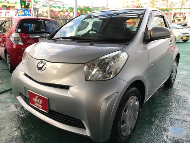 沖縄の中古車 トヨタ iQ 車両価格 39万円 リ済込 平成21年 6.5万km シルバーメタリック