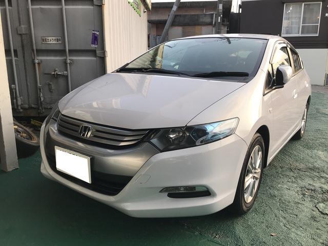 沖縄県の中古車ならインサイト G 純正ナビ