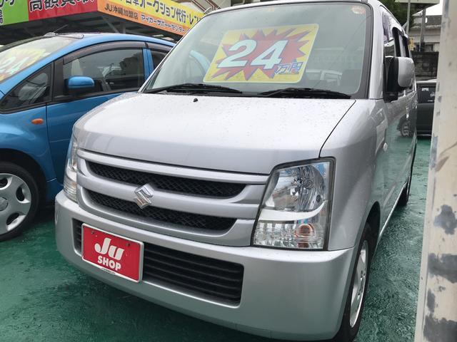 沖縄の中古車 スズキ ワゴンR 車両価格 24万円 リ済込 2008(平成20)年 11.3万km シルキーシルバーメタリック