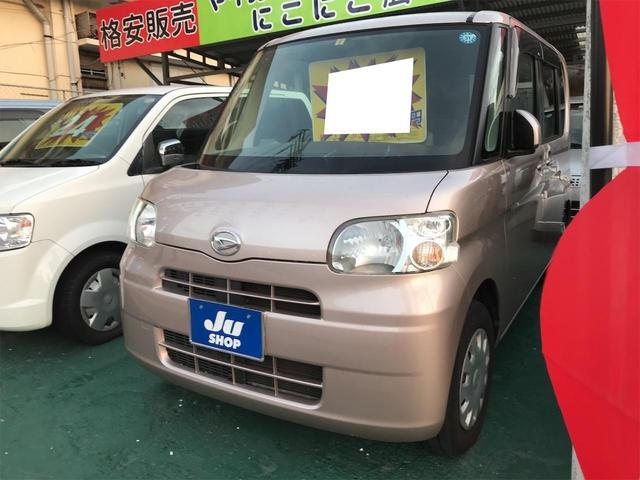 沖縄の中古車 ダイハツ タント 車両価格 34万円 リ済込 2009(平成21)年 13.4万km ライトローズメタリック