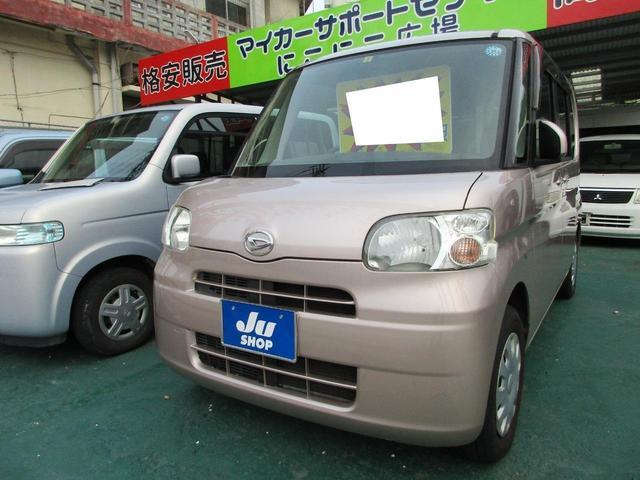 沖縄の中古車 ダイハツ タント 車両価格 32万円 リ済込 2009(平成21)年 11.8万km ゴールド