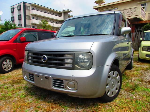 沖縄の中古車 日産 キューブキュービック 車両価格 25万円 リ済込 2004(平成16)年 10.6万km シルバー