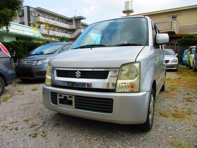 沖縄の中古車 スズキ ワゴンR 車両価格 14万円 リ済込 2006(平成18)年 14.4万km シルバー